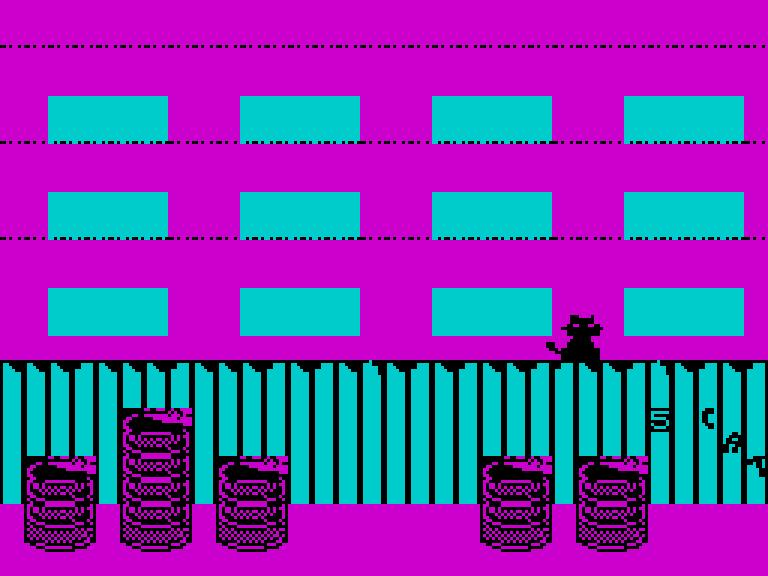 Misifu la Gatita gameplay screen