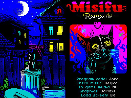 Misifu Remeow Title Screen