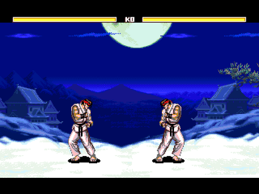 Fighting Street game play