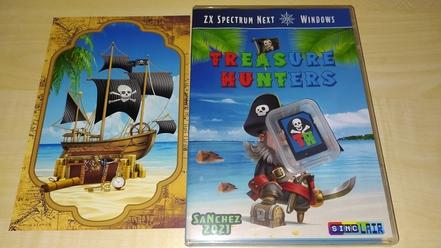 Treasure Hunters physical edition open box