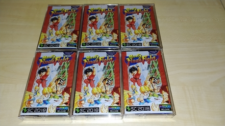 Mighty Final Fight quality cassette