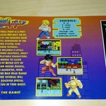 Mighty Final Fight colorful insert